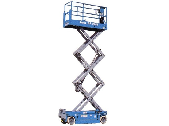 Low cost scissor lift training call 0844 704 9701 for prices for Scissor lift training video